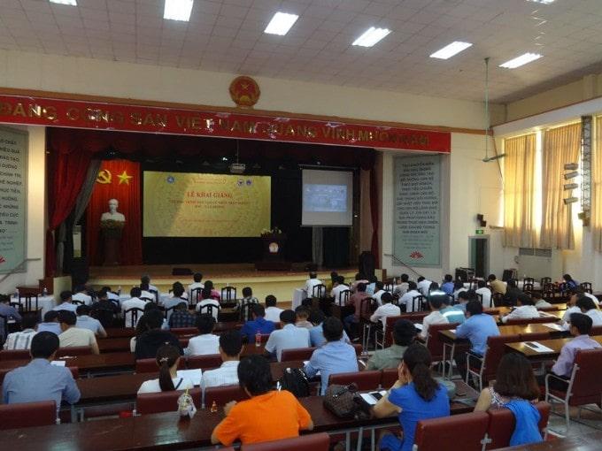 Lễ khai giảng chương trình đào tạo cử nhân trực tuyến TNU – E.Learning tại Thành phố Hồ Chí Minh
