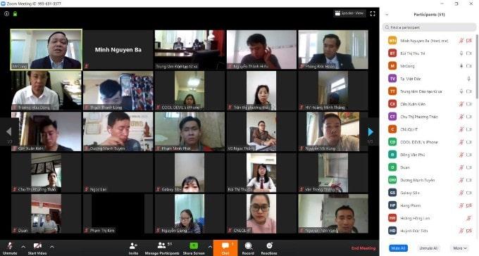 Buổi nhập học chương trình đào tạo cử nhân trực tuyến TNU – E.Learning