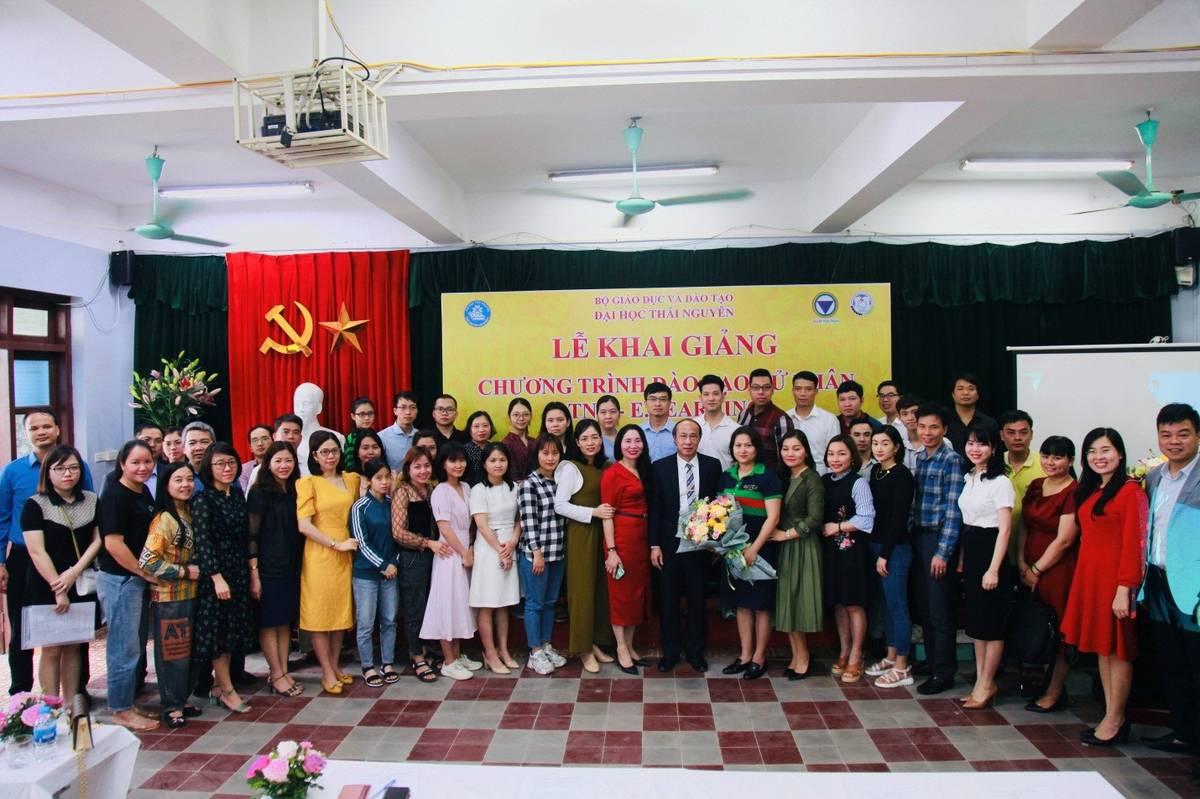 Lễ khai giảng chương trình đào tạo cử nhân TNU – E.LEARNING tại Hà Nội 18/04/2021